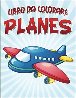 Libro Da Colorare Planes