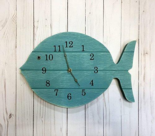 Painted Fish Clock