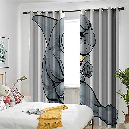 AndyTours Quote Decor Doorway Curtain Life is Better in Flip Flops Inspirational Phrase on Seascape Hot Summer Print Energy Efficient, Room Darkening 84