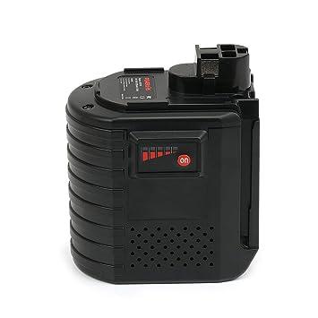 POWERAXIS 24V 3000mAh Ni-MH Batería de Repuesto para Bosch GBH 24VFR GBH 24VRE GBH 24VSR BAT019 BAT020 BAT021 2607335082 2607335083 2607335097 ...