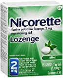 Nicorette Lozenges Stop Smoking Aid Mint 2 mg - 72 ct, Pack of 3