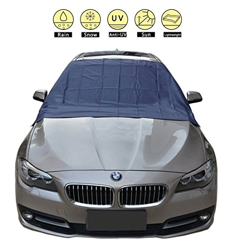 Automobile Windshield Sunshade (【Magnetic Snow Cover】Universal Car Snow Cover for Automobiles and Sunshade- Design Protects Windshield and Wipers from Snow, Ice)