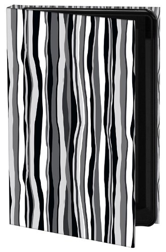Keka Carol Van Zandt Designer Classic Snap On Case for iPad Mini - Licorice Stripe