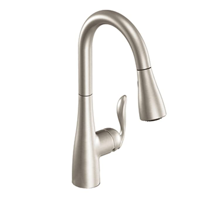 Best Pull Down Kitchen Faucet: Moen 7594SRS Arbor Pulldown Kitchen Faucet