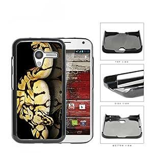 Ball Python Snake On Mirrored Surface Hard Plastic Snap On Cell Phone Case Motorola Moto X