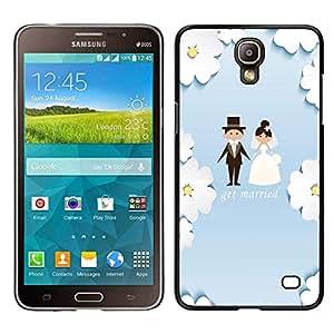 Dragon Case - FOR Samsung Galaxy Mega 2 - get merried - Caja protectora de pl??stico duro de la cubierta Dise?¡Ào Slim Fit