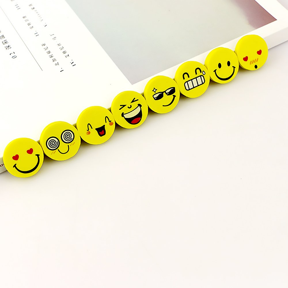 Smiley Eraser Mini Netter Radiergummi Karikatur Kawaii Für Kinder