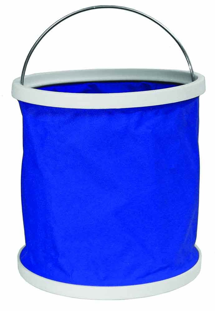 Derby Originals Collapsible Horse Water Bucket for Trail Riding Blue 71-7109-BL