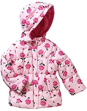 Child of Mine by Carter's Baby Toddler Girl Printed Puffer Jacket