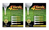 4 Yards More Golf Tee 4-pack Standard 2 3/4'' (2 Count)