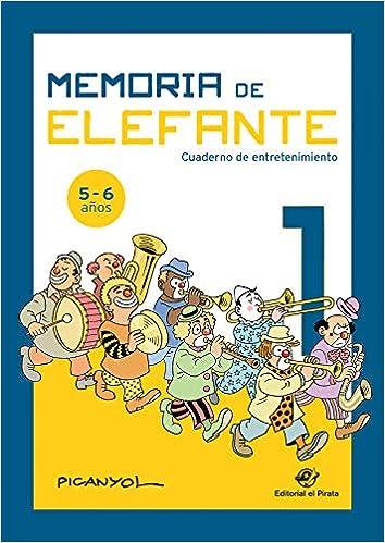 Memoria de elefante 1: cuaderno de entretenimiento: Juegos ...