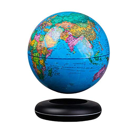 FACAI Magnetic Levitation Floating Globe Valentines Gifts for Him Self-Rotating Ball Anti Gravity World Map Earth Cool…