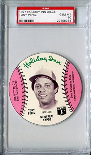 1977-msa-holiday-inn-sports-discs-tony-perez-rare-psa-gem-mint-10-hof-sp-montreal-expos-cincinnati-r