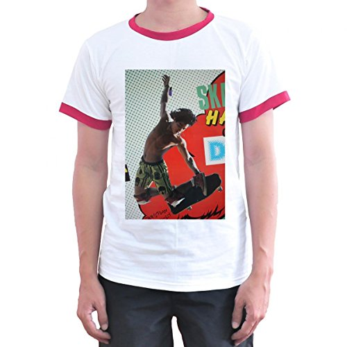 Toyz T shirt Store Christian Hosoi Skateboarding Skater T Shirt X-Large White -