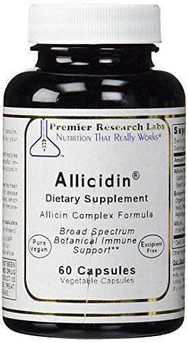 Premier Allicidin Complex Garlic 120 Caps / 2 Bottles By Premier / Quantum Research Labs by Quantum / Premier Research