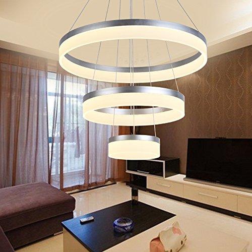 Modern Led Chandelier Dimmable Pendant Lamp Lighting