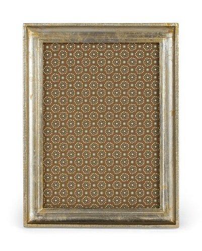 Cavallini Florentine Siena Frames, 4 by 6-Inch, Silver