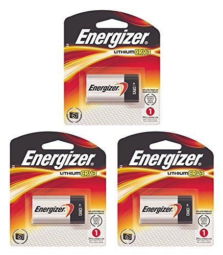 - 3x Energizer CR-V3 Battery Photo Lithium 3V LCRV3B ELCRV3 KCRV3 LB-01 FRESH