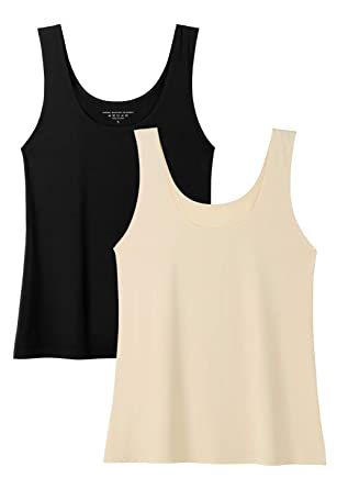 e2293dd05c4de0 Amazon.com  Vislivin Womens Tank Tops Spandex Basic Tank  Clothing