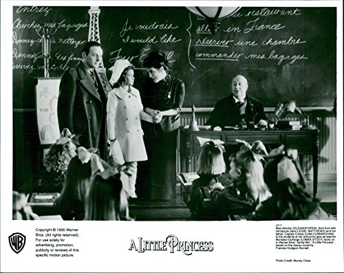 Vintage photo of A Little Princess starring Eleanor Bron, Liam ()
