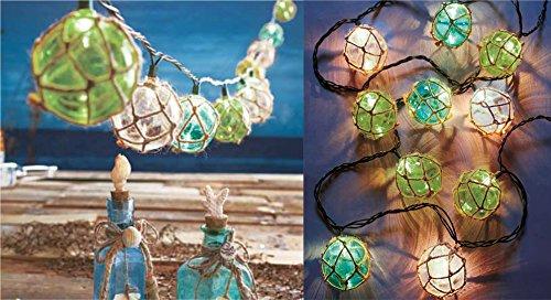Merveilleux Amazon.com : Vintage Float String Lights Nautical Coastal Beach Summer Patio  Porch Decoration : Everything Else