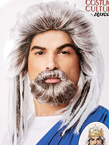 Costume Culture Mens King of The Sea Wig and Beard Set Deluxe