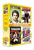 4 Film Collection: Knocked Up/Superbad/40 Year Old Virgin/Talladega Nights [DVD]