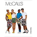 McCall's Patterns M6104 Misses'/Men's/Teen Boys' Boxer Shorts In 3 Lengths, Size X-SMALL