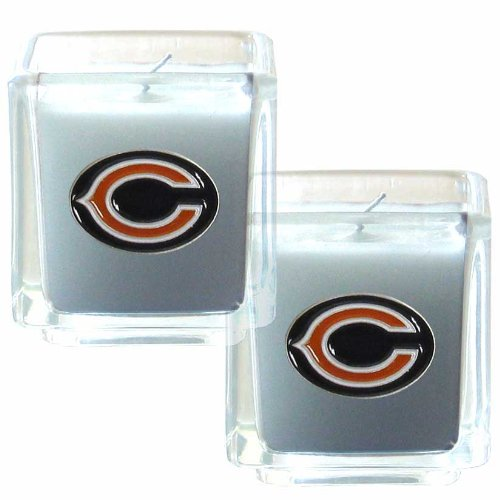 NFL Chicago Bears Candle Set (Bears Nfl Candle)
