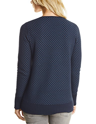 Structure Suéter Mujer 20128 Blue deep Cecil Blau Para Pullover dqCIIE7w