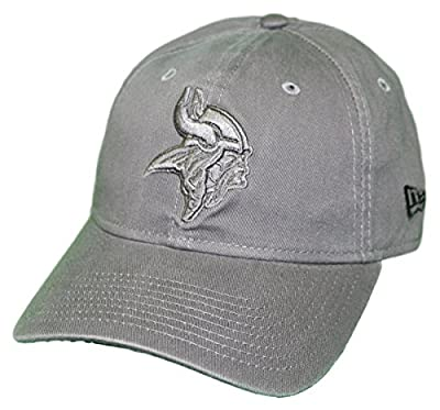 New Era Minnesota Vikings NFL 9Twenty Classic Tonal Adjustable Graphite Hat from New Era