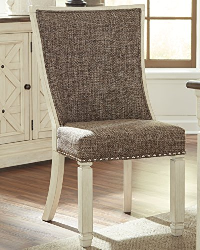 Antique White Signature Design by Ashley Bolanburg Dining Side Chair Set of 2,