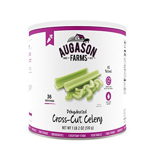 Augason Farms Dehydrated Cross Cut Celery 1 lb 2 oz No. 10 Can ()