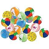 "Kangaroo's 8"" Beach Balls, (25-Pack); Summer Birthday Party Favors"