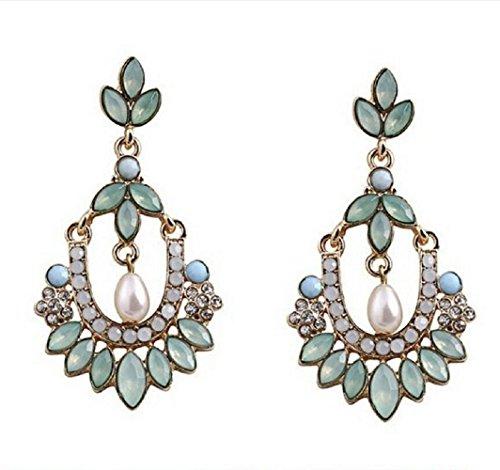 Yuriao Jewelry Elegant Fashion Pearl Bohemia Earrings