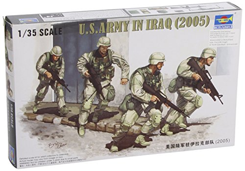 Trumpeter 1/35 US Army in Iraq 2005 Figure (2005 Trumpeter)