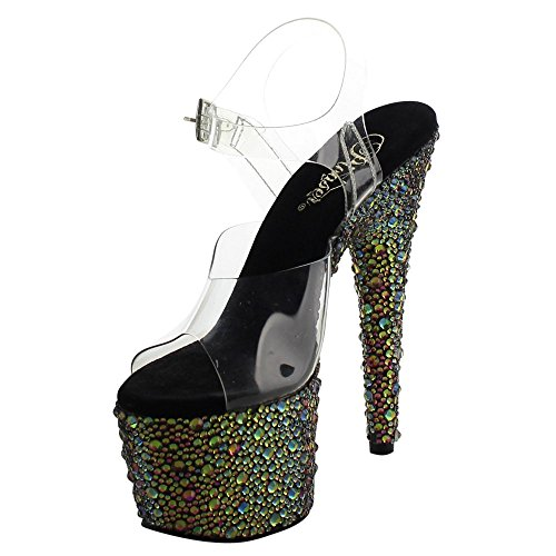 Pleaser BEJEWELED-708MS BEJ708MS/C/GNRS
