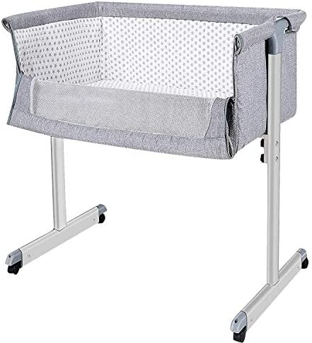 The B-Style TB Baby Bassinet Bedside Sleeper Portable Crib Baby Bed