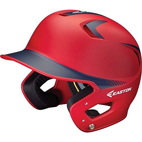 Easton Z5 Grip 2Tone Batting Helmet Rdny Jr Red/Navy