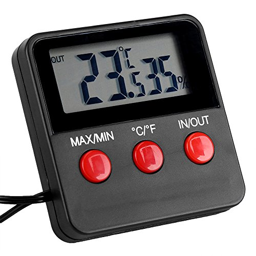 Price comparison product image Thermo-Hygrometer,  Aisxx Digital LCD Thermometer Hygrometer for Egg Incubator,  Pet Keeping