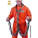 Catene per detenuto carcerato in plastica con manette