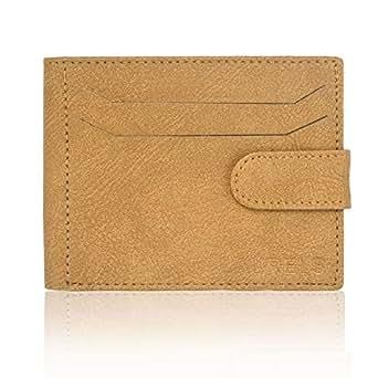 Laurels Tan Leather For Men - Bifold Wallets