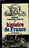img - for Pre cis chronologique d'histoire de France: Des origines a  nos jours (French Edition) book / textbook / text book