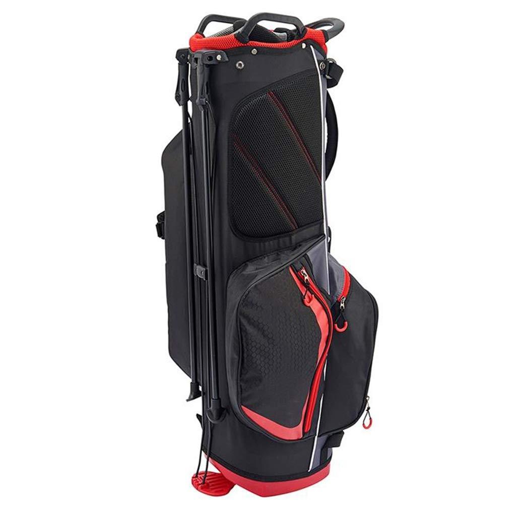 NTWXY Golf Club Bag, Lightweight and Portable, 100% Waterproof, Black