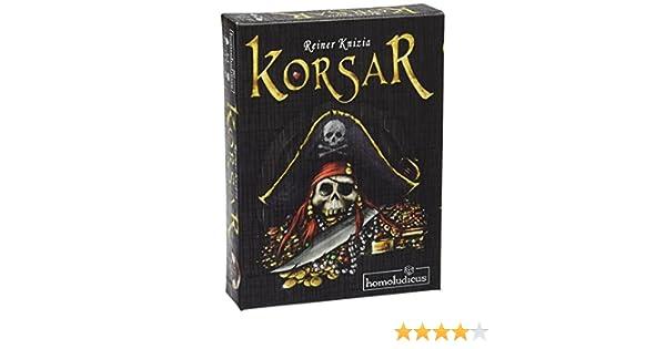 Devir Homoludicus - Korsar, juego de estrategia (925487): Amazon.es: Juguetes y juegos