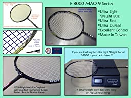 Genji Sports Feather Light Badminton Racket F-8000