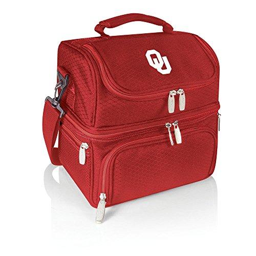 [NCAA Oklahoma Sooners Pranzo Insulated Lunch Tote, Red] (Oklahoma Sooners Salt)