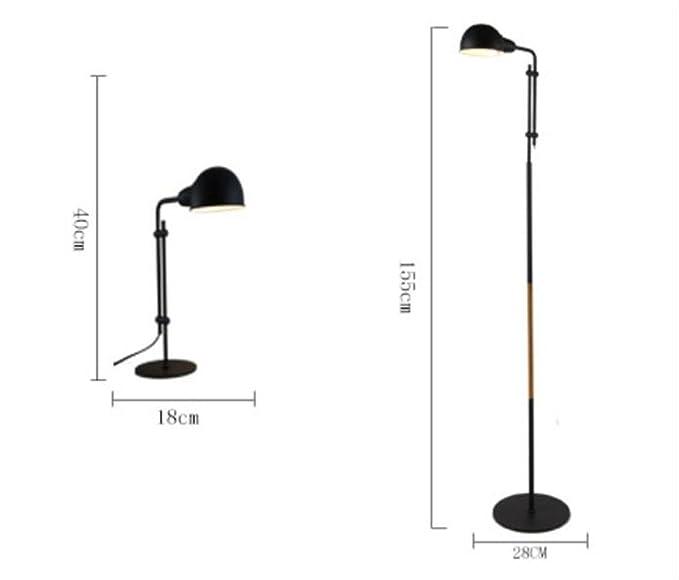 Amazon.com: Lucky clover-a lámpara de mesa minimalista ...