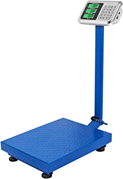 Heavy Duty Digital Postal Parcel Scales Weighing 300KG//661lb Large Platform