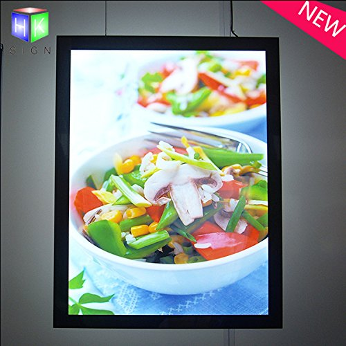 Led Magnetic Menu Board Signs For Wall Mounted Restaurant Fast